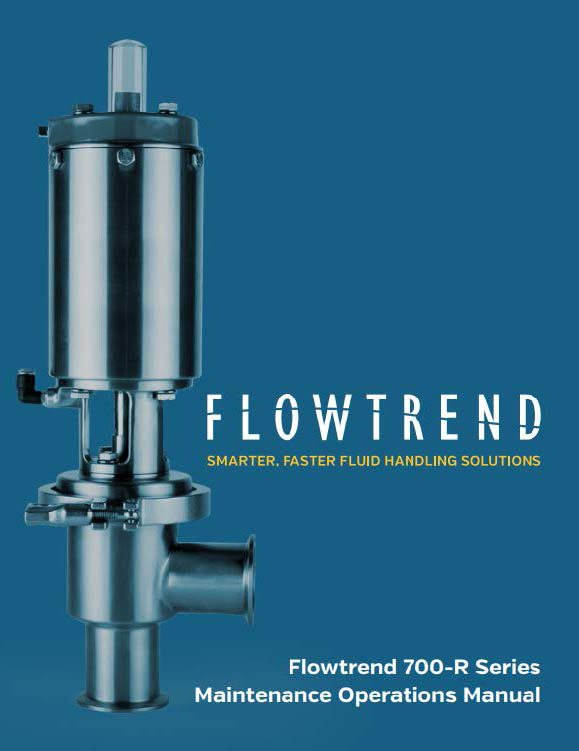 Maintenance Operations Manuals, Flowtrend 700 Series-R HP Maintenance Operation Manual